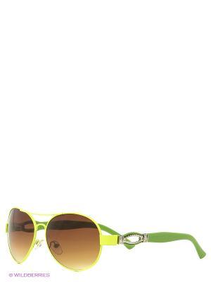 Солнцезащитные очки Vittorio Richi. Цвет: салатовый, желтый