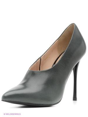 Ботильоны Moda Donna. Цвет: черный, зеленый