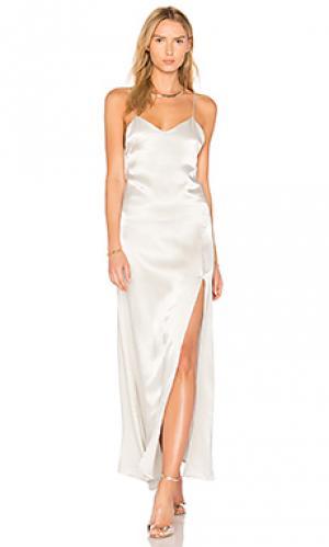 Платье-комбинация kate Stillwater. Цвет: серый