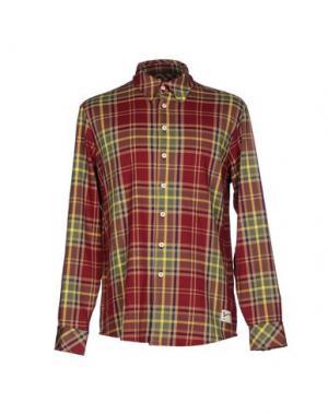 Pубашка SPORTSWEAR REG.. Цвет: красно-коричневый