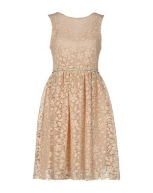 Платье до колена NORA BARTH. Цвет: бежевый