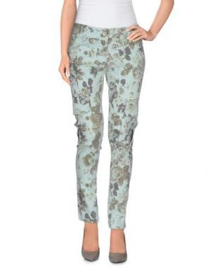 Повседневные брюки SARAH JACKSON. Цвет: светло-зеленый