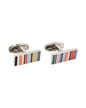Запонки и зажимы для галстука PAUL SMITH. Цвет: оранжевый
