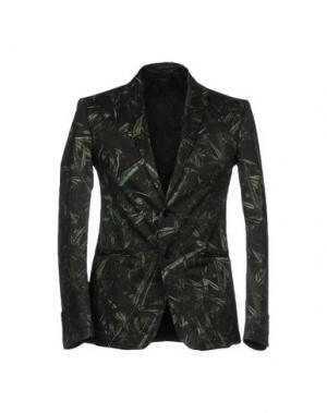 Пиджак MESSAGERIE. Цвет: темно-зеленый