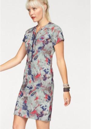 Платье Kangaroos. Цвет: цветной