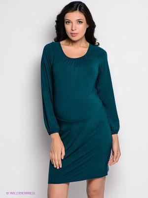 Платье для беременных ФЭСТ 61514Е/зеленый