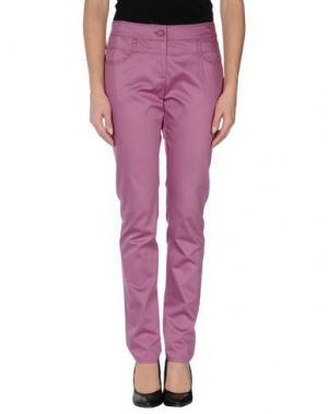 Повседневные брюки HARMONT&BLAINE. Цвет: розовато-лиловый