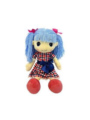 Кукла стильняшка с голубыми волосами, 25 см(MT-HH-R9068E1) MAXITOYS. Цвет: голубой, бежевый, розовый, синий