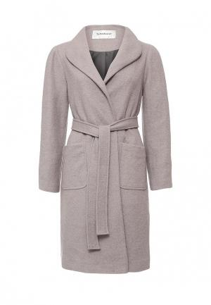 Пальто Tutto Bene. Цвет: серый