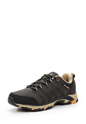 Ботинки трекинговые Strobbs. Цвет: коричневый