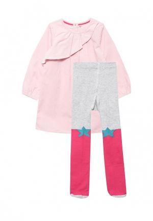 Комплект Marks & Spencer. Цвет: розовый