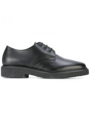 Классические туфли оксфорды Common Projects. Цвет: чёрный