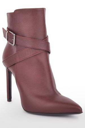 ANKLE BOOTS Marco Barbabella. Цвет: bordeaux
