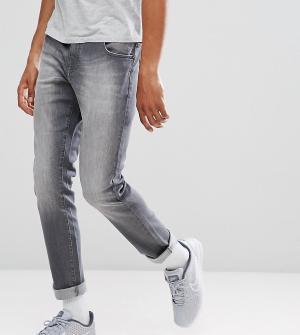 Brooklyn Supply Co. Серые джинсы скинни Co. Цвет: серый