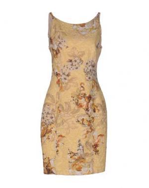 Короткое платье SOOZ BY ISABEL C.. Цвет: платиновый