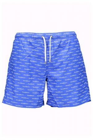 Плавательные шорты Cesare Paciotti. Цвет: синий