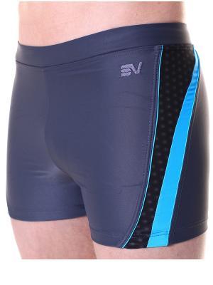 Плавки Sport Vision. Цвет: черный, синий