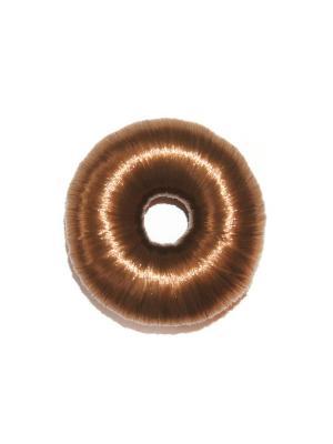 Бублик для волос Lola. Цвет: коричневый