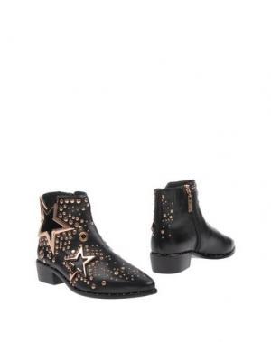 Полусапоги и высокие ботинки IVY KIRZHNER. Цвет: черный