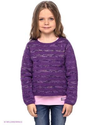 Джемпер S.OLIVER. Цвет: фиолетовый, бледно-розовый