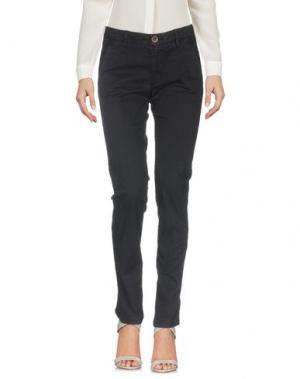 Повседневные брюки SEVEN7. Цвет: темно-синий
