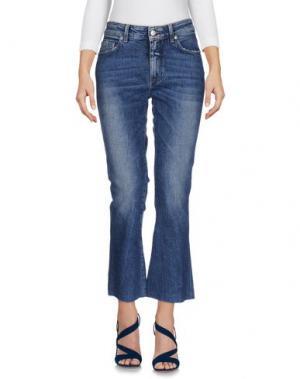 Джинсовые брюки DEPARTMENT 5. Цвет: синий