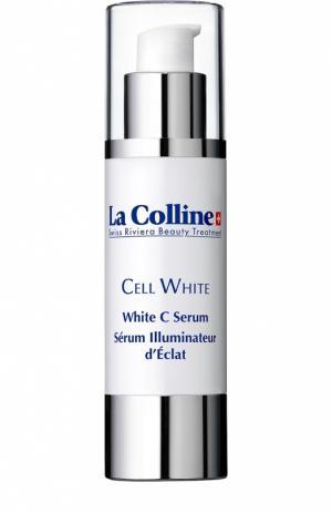 Сыворотка для лица отбеливающая White C Serum La Colline. Цвет: бесцветный