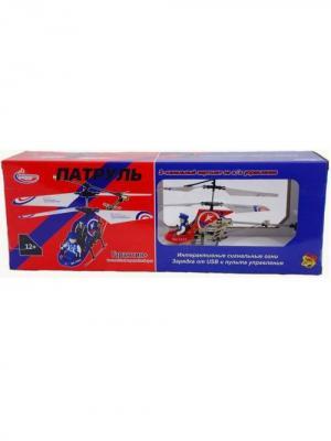 Вертолет на радиуправлении Патруль, красный ВластелиНебес. Цвет: красный