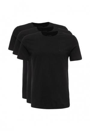 Комплект футболок 3 шт. Boss Hugo. Цвет: черный