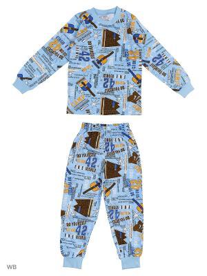 Пижама детская Bonito kids. Цвет: голубой