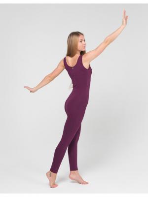 Комбинезон Miss Incredible yogadress. Цвет: сливовый
