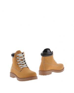 Полусапоги и высокие ботинки AVIREX. Цвет: желто-коричневый