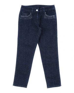 Джинсовые брюки I PINCO PALLINO I&S CAVALLERI. Цвет: синий
