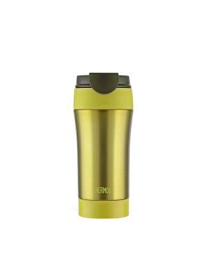 Кружка-термос  JND-400 LMG 400L Thermos. Цвет: желтый