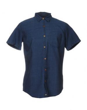 Pубашка DEUS EX MACHINA. Цвет: темно-синий