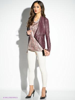 Кофточка Just Cavalli. Цвет: розовый, коричневый, серебристый
