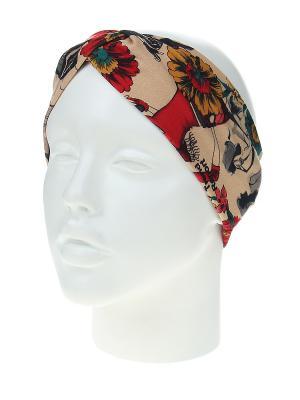 Повязка на голову Migura. Цвет: бежевый, бирюзовый, бордовый