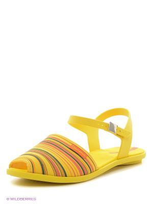 Сандалии Ipanema. Цвет: желтый