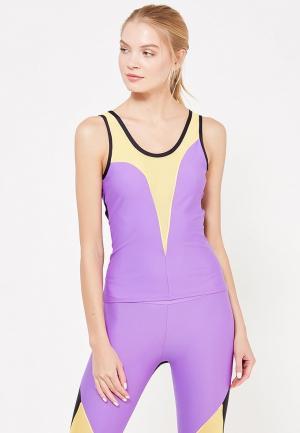 Майка спортивная Dali. Цвет: фиолетовый