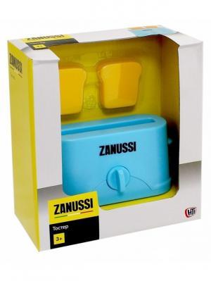 Тостер Zanussi HTI. Цвет: бирюзовый, желтый