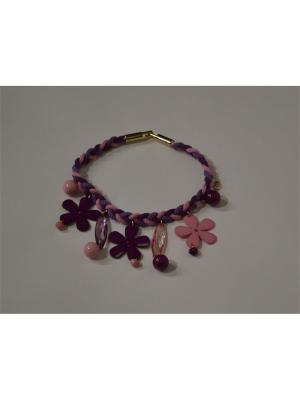 Ожерелье Sergio Bellini. Цвет: фиолетовый
