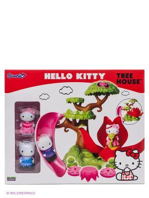 Набор HELLO KITTY-дом Kitty. Цвет: зеленый, красный