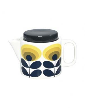 Для чая и кофе ORLA KIELY. Цвет: желтый