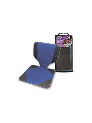 Защита сидения под автокресло Phantom PH6528 от 0 до 25 кг (1/2/3) синий. Цвет: синий