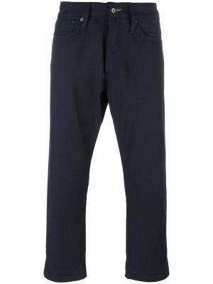 Укороченные джинсы Denham. Цвет: синий