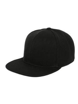 Бейсболка TRUESPIN Blank Snapback SS17 True Spin. Цвет: черный