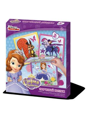 Чудо -Творчество. Disney Творческий коллаж Sophia Чудо-творчество. Цвет: фиолетовый, белый, коричневый