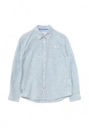 Рубашка Pepe Jeans. Цвет: голубой
