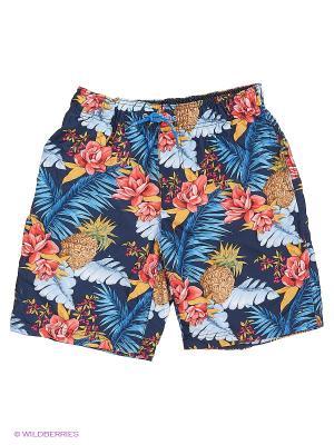 Плавательные шорты Tommy Hilfiger. Цвет: черный, синий, оранжевый
