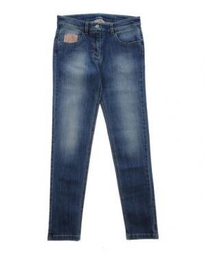 Джинсовые брюки DONNAVVENTURA by ALVIERO MARTINI 1a CLASSE. Цвет: синий